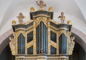 Die Orgel in der Kilianikirche Höxter. FOTO: GEMEINDE