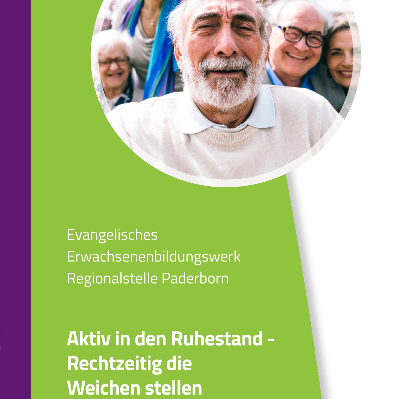 """Workshop """"Aktiv in den Ruhestand – Rechtzeitig die Weichen stellen"""""""