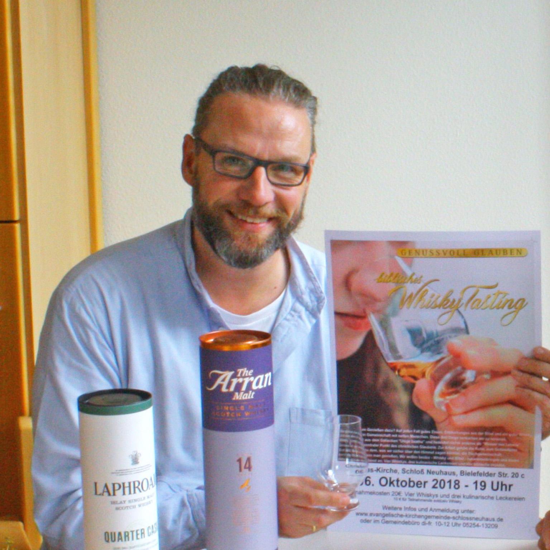 Teilnahme auch ohne Whiskygenuss möglich Biblisches Whisky-Tasting in Schloss Neuhaus