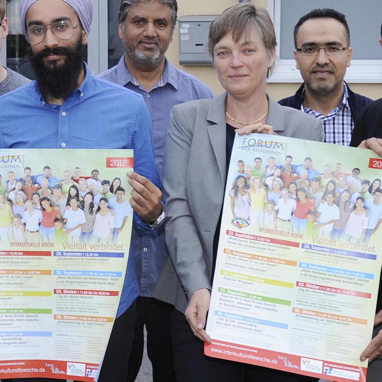 Interkulturelle Woche: Das Forum der Religionen lädt vom 22. September bis 6. Oktober dazu ein Flagge zeigen für die Vielfalt