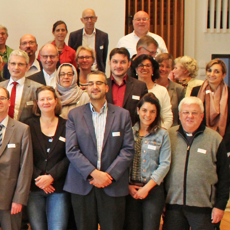 Forum Religionen Paderborn und GlaubensGarten vertreten Erster Bundeskongress der Räte der Religionen
