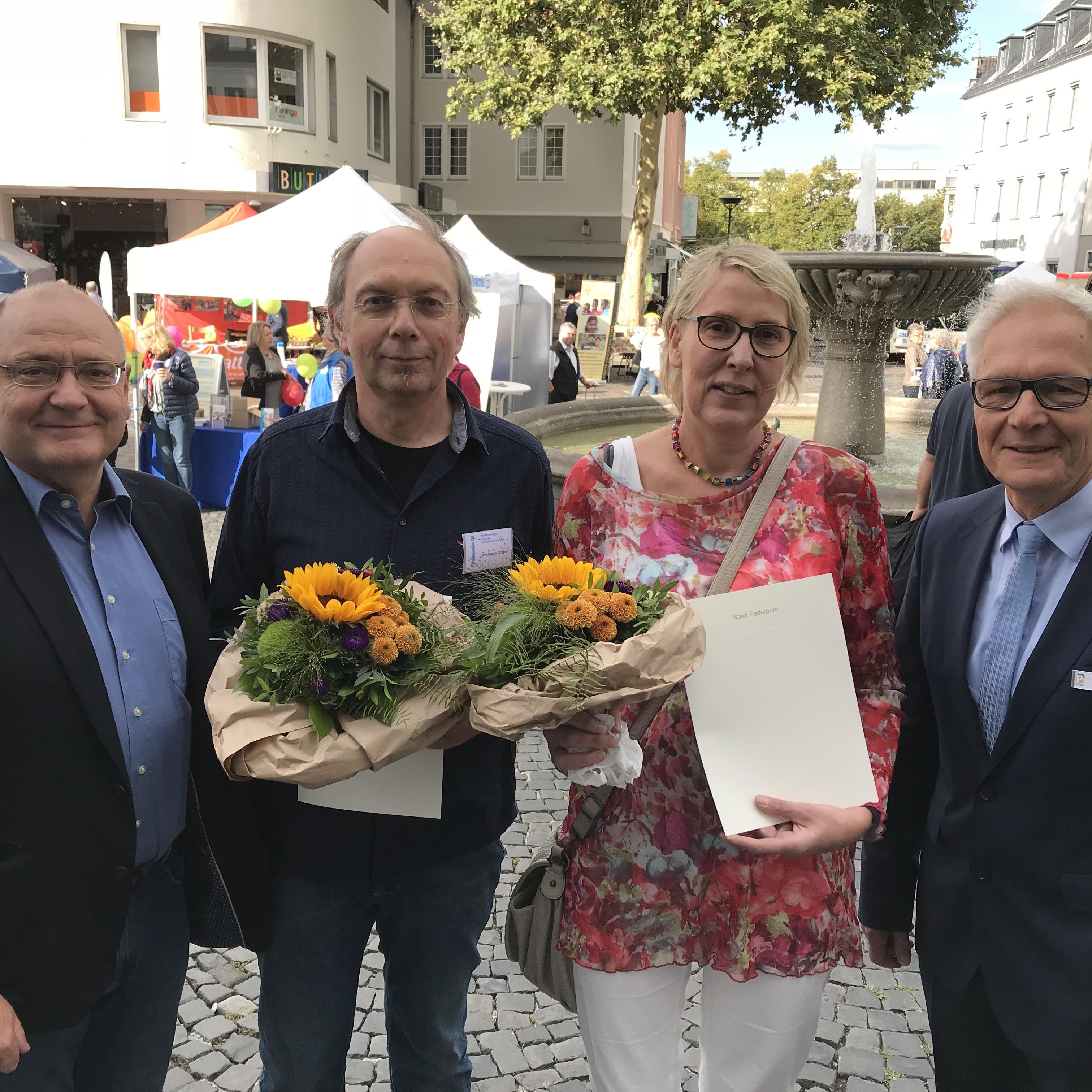 Dank an Betreuungsvereine, Diakonie zieht positive Bilanz Tag des Paderborner Ehrenamtes war ein voller Erfolg