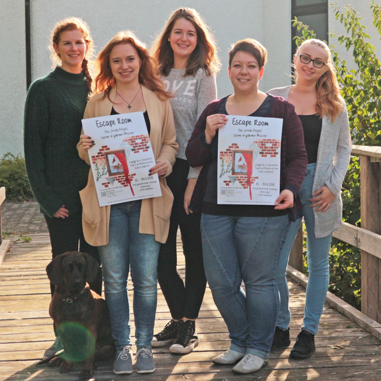 Teams für Escape Room in Sennelager gesucht Das Jericho Projekt: Spione in geheimer Mission