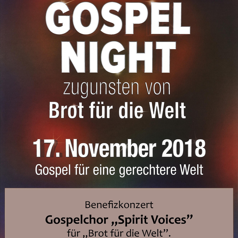 Benefizkonzert in Bad Driburg Bundesweite Gospelnight 2018