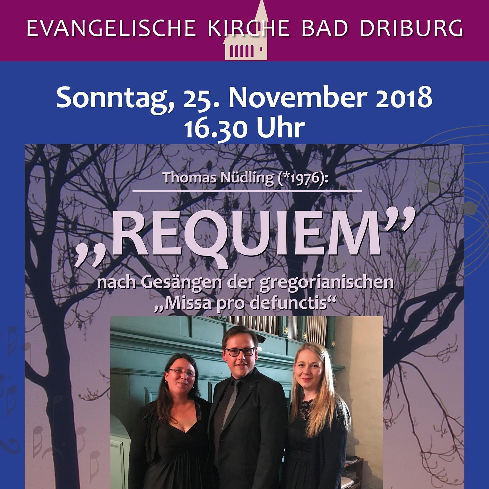 """Komponist mit neuem Werk zu Gast in Bad Driburg """"Requiem"""" von Thomas Nüdling"""
