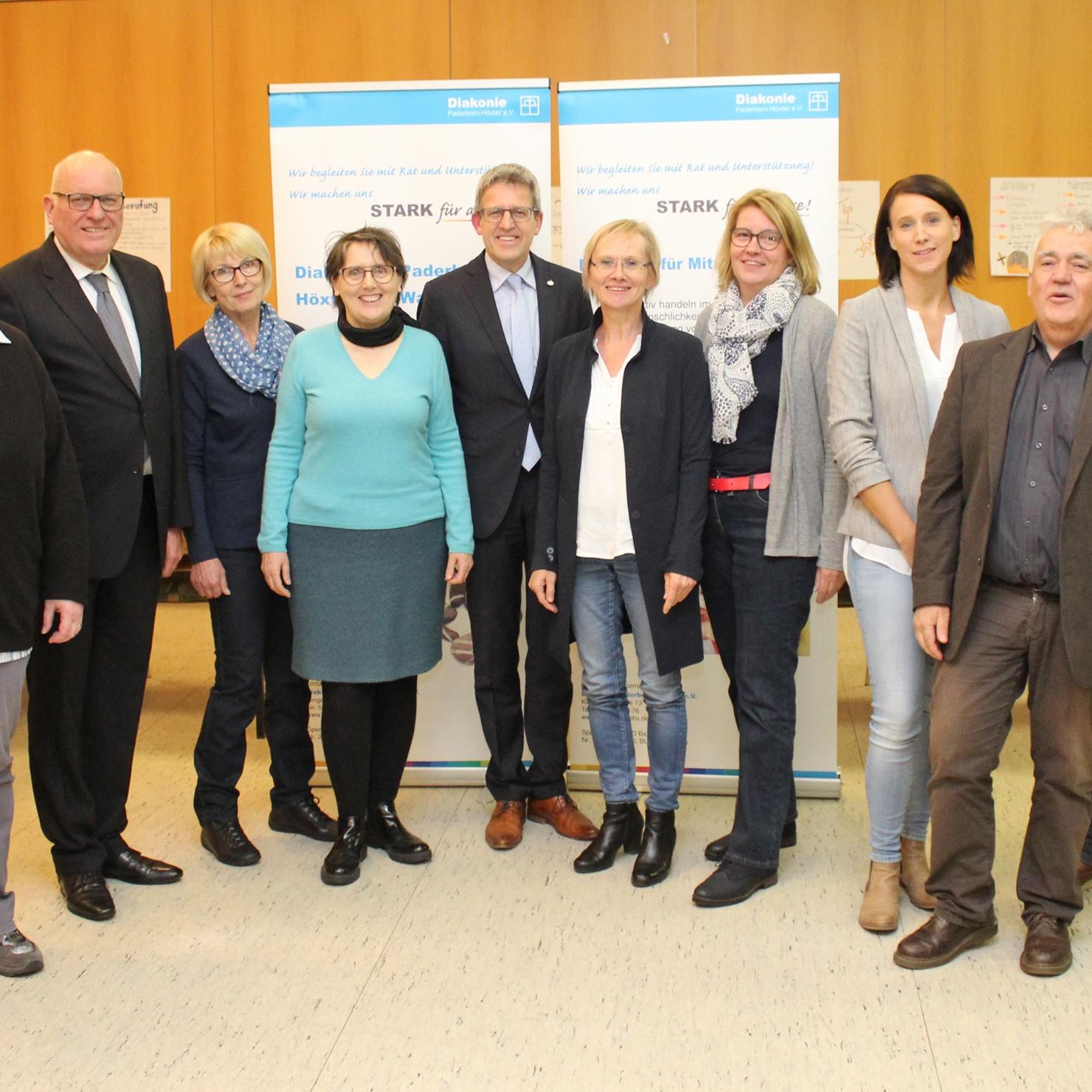 Mitgliederversammlung der Diakonie Paderborn-Höxter e.V. Neue Struktur und Strategie für die Zukunft