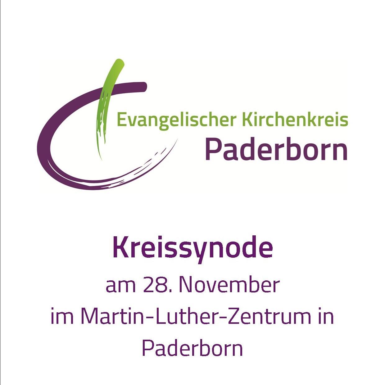Synode des Evangelischen Kirchenkreises Paderborn Themen sind Haushaltspläne, Berichte und Kirchentag