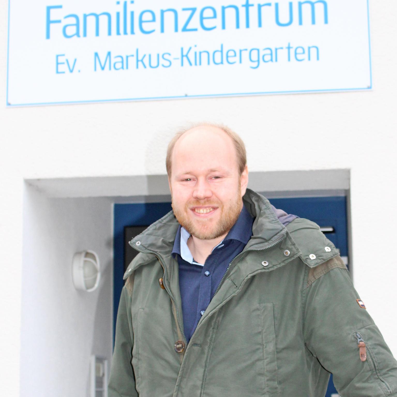 Frischer Wind im Markus-Team NEU Julian Overkott leitet das evangelische Markus-Familienzentrum
