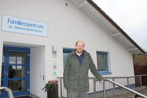 Julian Overkott ist mit offenen Armen im Markus-Kindergarten empfangen worden. FOTO: HEIDE WELSLAU