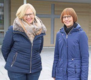 Möchten das Angebot des Besuchsdienstes ausweiten und starten am 7. März mit einem Befähigungskurs (von links): Tanja Lorz und Pfarrerin Gabriele Hische. FOTO: AXEL LANGER