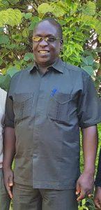 Eingeladen vom Evangelischen Kirchenkreis Paderborn: Pastor Frederick Muganyizi, Superintendent des Partner-Kirchenkreises Kusini B in Tansania. FOTO: TANSANIA-AUSSCHUSS