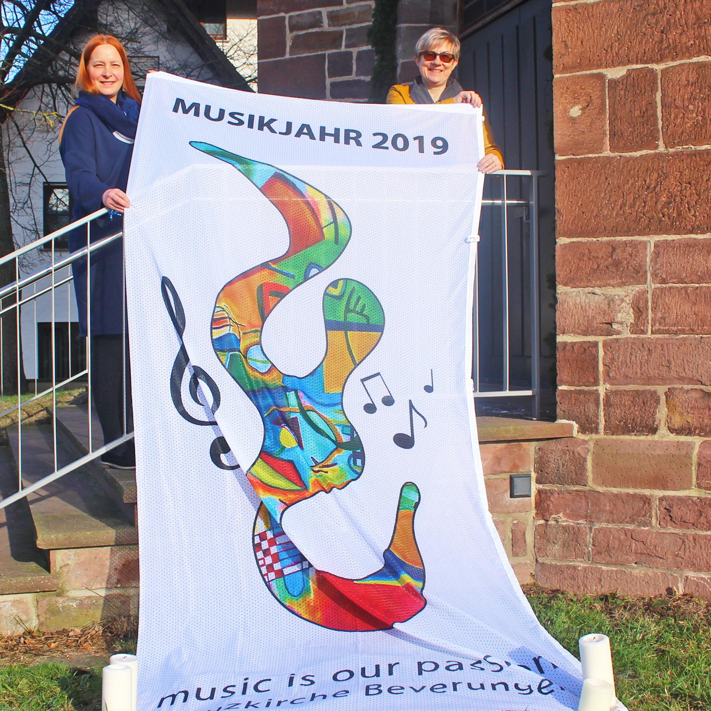 Musikalisches Jahr in der Kreuzkirche: Musik ist unsere Leidenschaft KREUZKIRCHE BEVERUNGEN Pfarrerin setzt auf Innovation