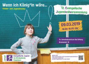 Plakat der 12. Jugendvollversammlung