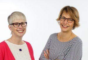 Leiten die Telefonseelsorge Paderborn: (v. l). Monika Krieg (Leiterin) und Pfarrerin Dorothea Wahle-Beer (stellv. Leiterin). Foto: TS Paderborn