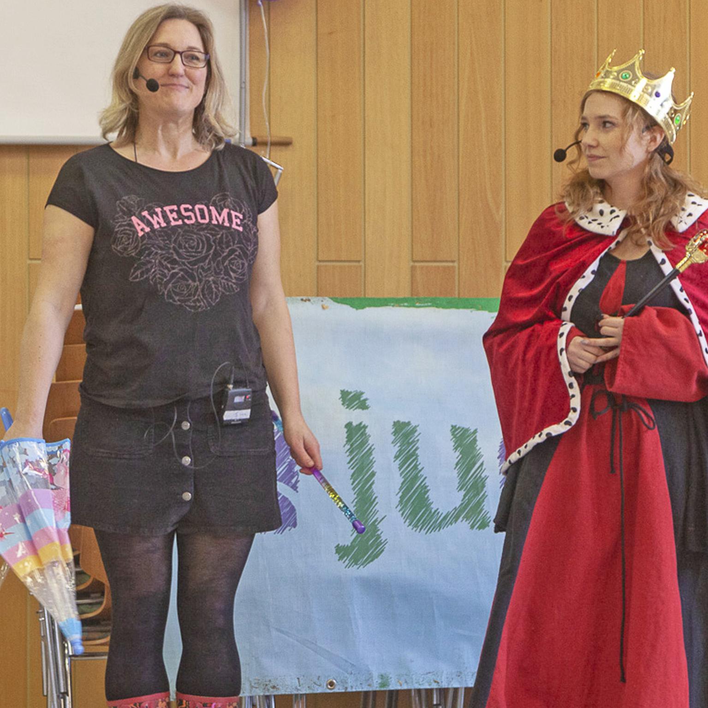 «Wenn ich König*in wäre ….» 12. JVV Kinder- und Jugendrechte, Kreativität und Spaß
