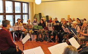 Gemeinsames Musizieren und Austausch bereichern. Deshalb soll der Blockflötentag wiederholt werden. FOTO: PRIVAT