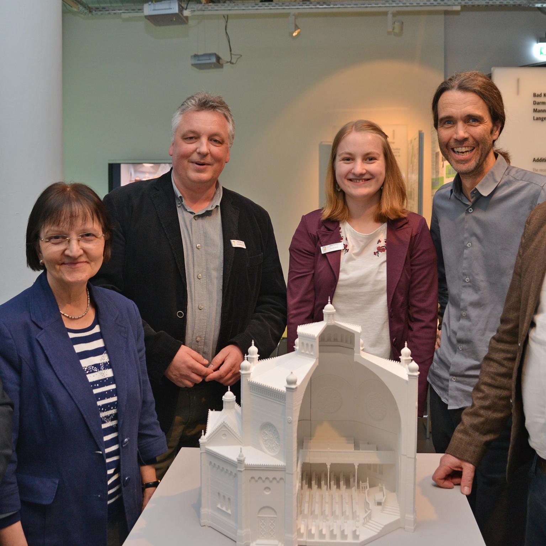 Synagogen in Deutschland AUSSTELLUNG Virtuelle Rekonstruktion im Stadtmuseum Paderborn