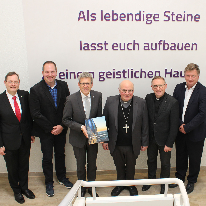 Weihbischof Berenbrinker besuchte Evangelischen Kirchenkreis Enge ökumenische Beziehungen in Paderborn