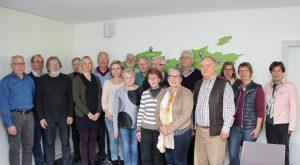 Ehrenamtliche Kirchmeisterinnen und Kirchmeister aus Kirchengemeinden des Evangelischen Kirchenkreises Paderborn. FOTO: OLIVER CLAES