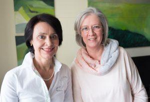 Bieten einen Kurz-Kursus zur Sterbebegleitung an: Reinhild Wode (l.) und Heike Bade, Koordinatorinnen des Ambulanten Hospizdienstes St. Johannisstift e.V. FOTO: HOSPIZDIENST