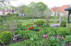 """Der Lebensgarten in Amelunxen, hier ein Frühlingsbild, steht am 7. Juli in der Reihe """"Offene Gärten im Dreiländereck"""" im Mittelpunkt. FOTO: LEBENSGARTEN"""