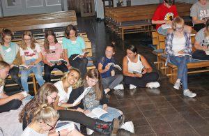 Die erste Churchnight für Jugendliche in der Kreuzkirche Beverungen kam sehr gut an. FOTO: GEMEINDE