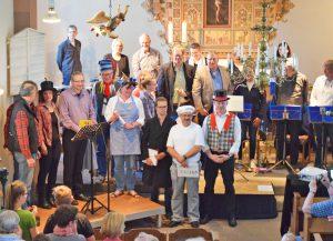 Die Aufführung von Max und Moritz durch den Posaunenchor Bruchhausen war ein voller Erfolg. FOTO: PC