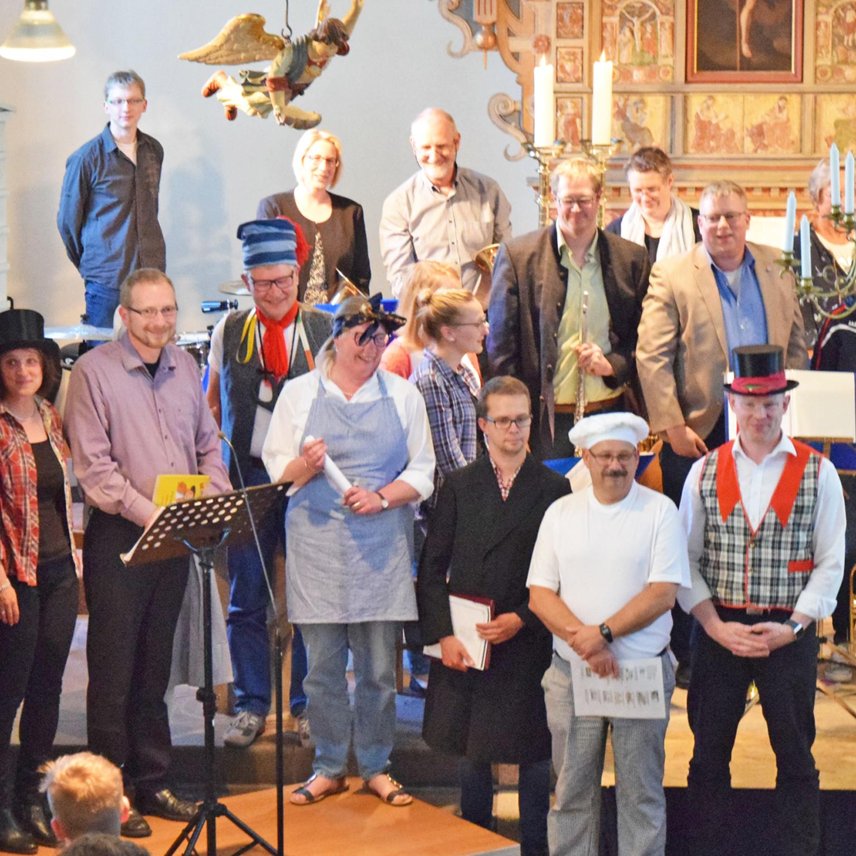 ERFOLGSREZEPT Kooperation hilft Lücken im Chor zu schließen 60 Jahre Posaunenchor Bruchhausen