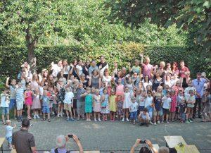 140 kleine und große Menschen haben an der diesjährigen Kinderbibelwoche im Lukas-Bezirk Paderborn mitgewirkt. FOTO: GEMEINDE