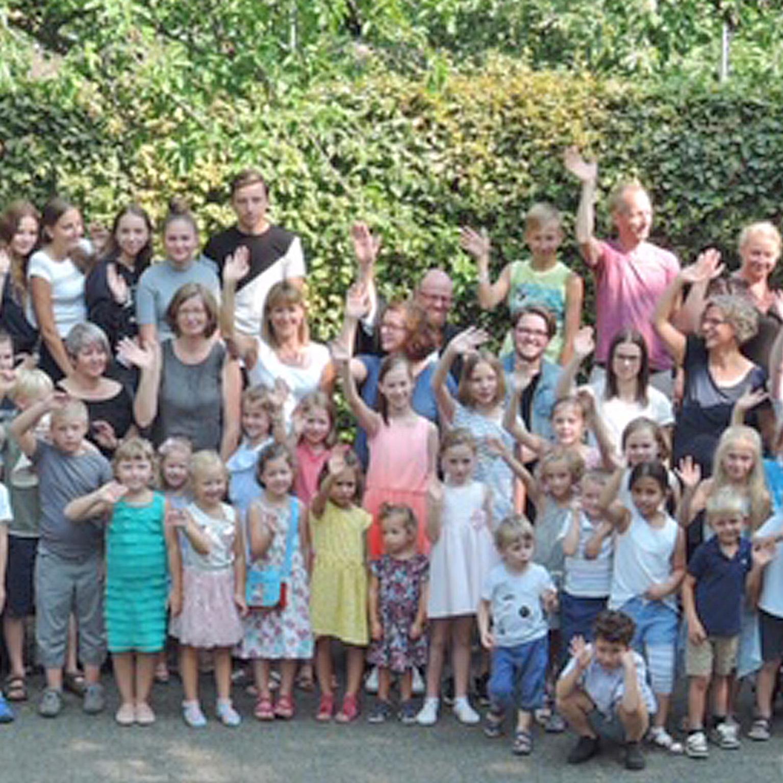 URAUFFÜHRUNG von Theaterstück und Esther-Rap Lukasgemeinde feiert Abschluss der Kinderbibelwoche
