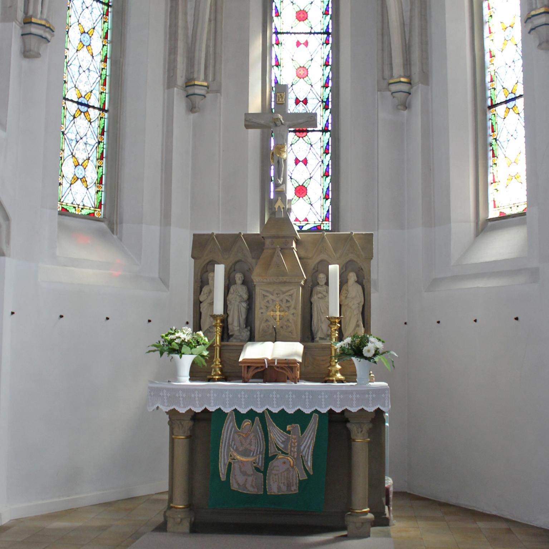 Das schöne Portal der Kreuzkirche Nieheim, durch das unzählige Gläubige die Kirche betreten haben. FOTO: HEIDE WELSLAU