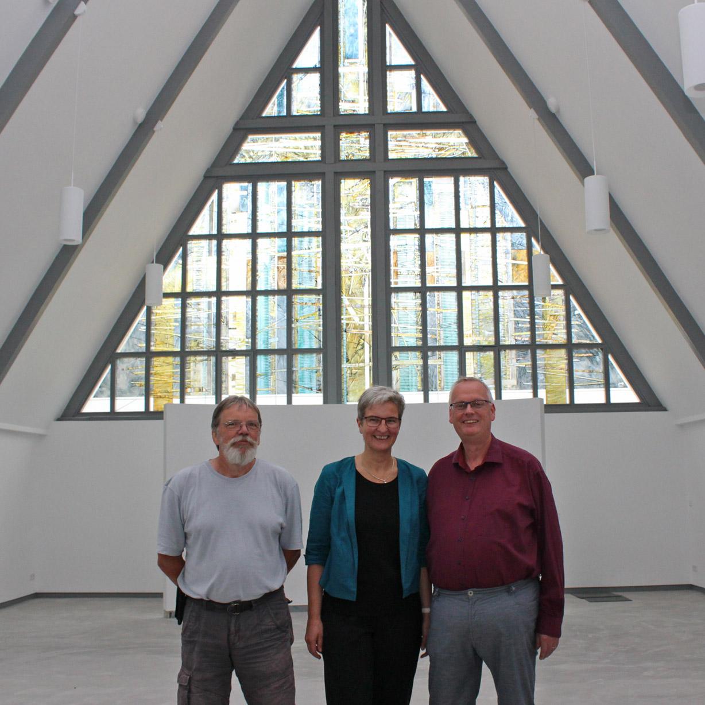 Wiedereröffnung nach Umbau am 6. Oktober Gottesdienst, Gemeindefest und Konzert in der Immanuel-Kirche
