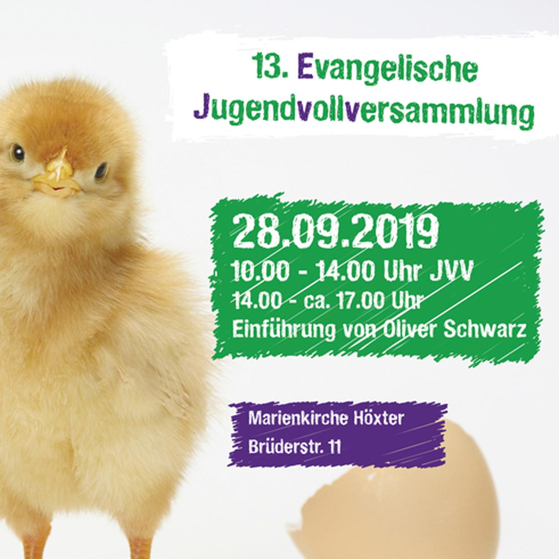 Am 28. September in Höxter Vollversammlung der Evangelischen Jugend