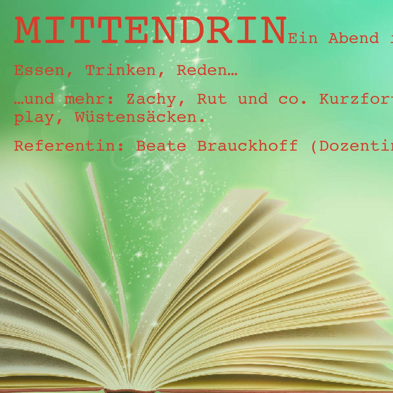 Bücher, Gespräche und Kurzfortbildung Abend in der Mediothek am 26. September