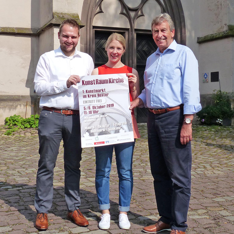"""Kreis Höxter präsentiert Kunstmarkt unter dem Motto """"KunstRaumKirche"""" Premiere in der Höxteraner Marienkirche am ersten Oktoberwochenende"""