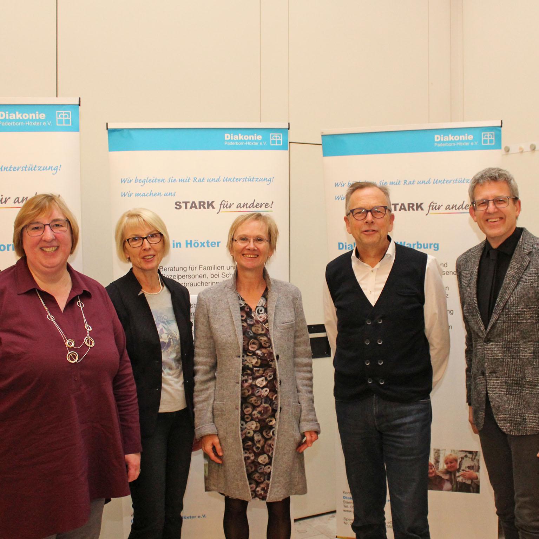 Mitgliederversammlung der Diakonie Paderborn-Höxter e.V. Einsatz für Flüchtlinge und gegen Armut