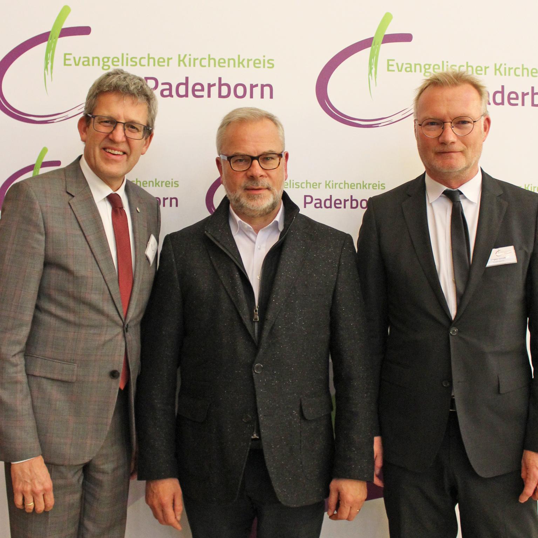 """Superintendent Volker Neuhoff:  """"Glaubensfroh Kirche im Umbruch gestalten"""" Synode des Evangelischen Kirchenkreises Paderborn tagte"""