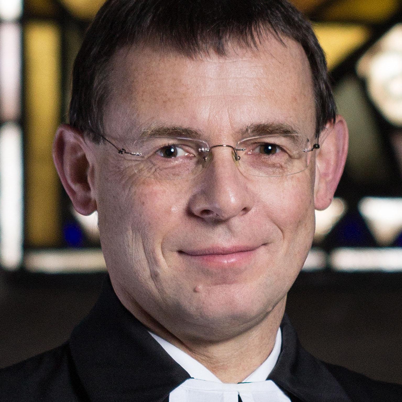 Pfarrer Dr. Eckhard Düker. FOTO: DIANA JILL MEHNER
