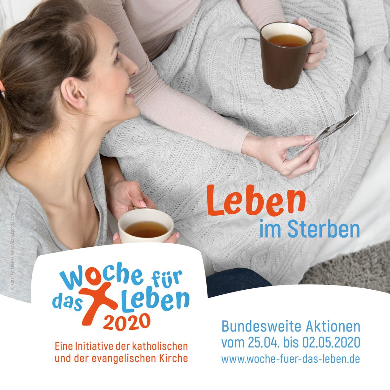 """Informationstag in Paderborn am 14. März Woche für das Leben 2020 """"Leben im Sterben"""""""