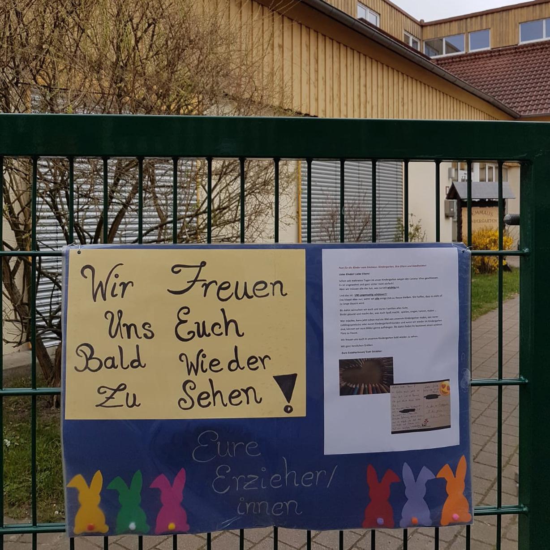 Evangelisches Familienzentrum Emmaus Büren Malaktion für Kinder und Dank an die Eltern
