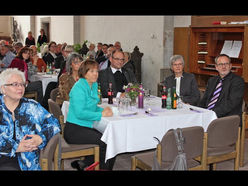 von links: Beer, Kurschus, Pieper, Schröder, Sobiech