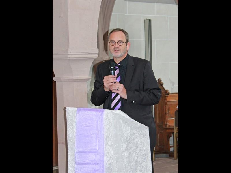 Grußwort Landeskirchenrat Fred Sobiech