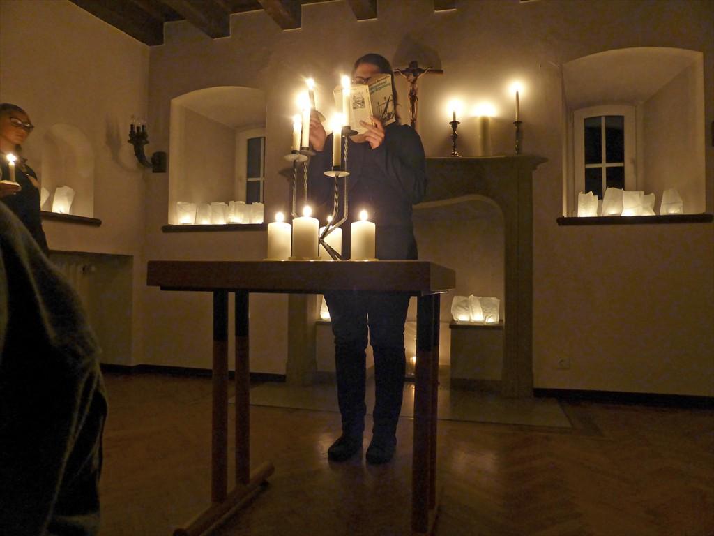 Lesung Dietrich Bonhoeffer Wewelsburg