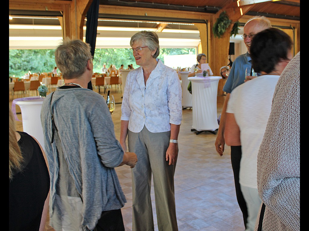 Mitarbeiter Fest Superintendentin Schröder Begrüßung