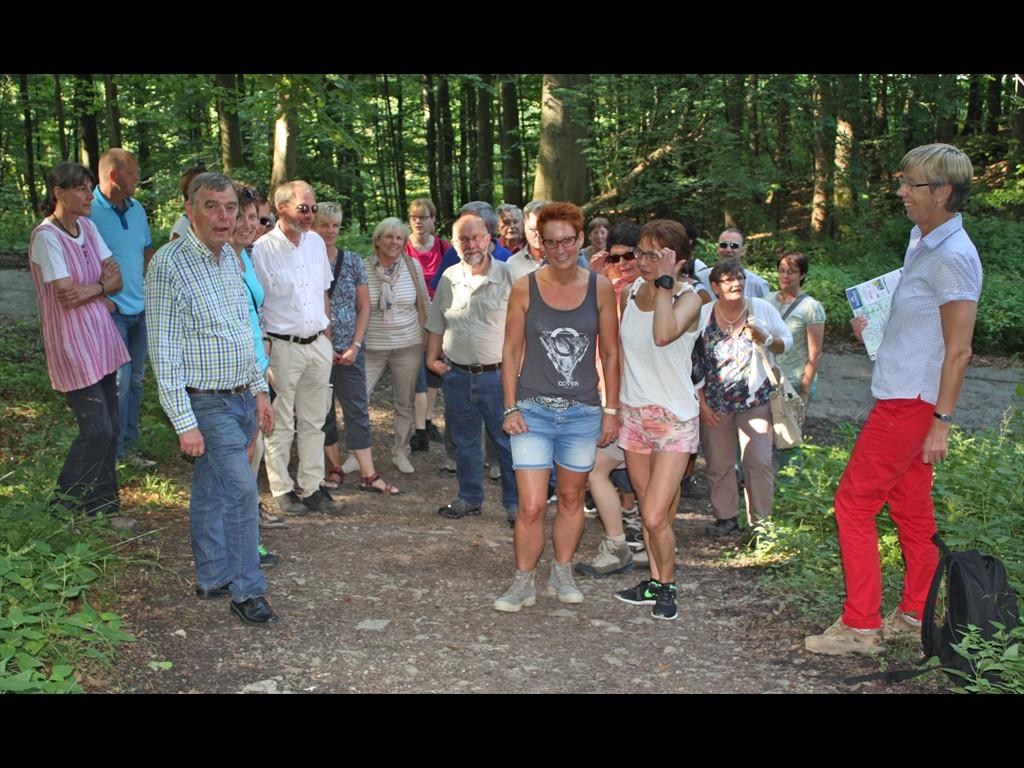 Mitarbeiterfest Wandergruppe