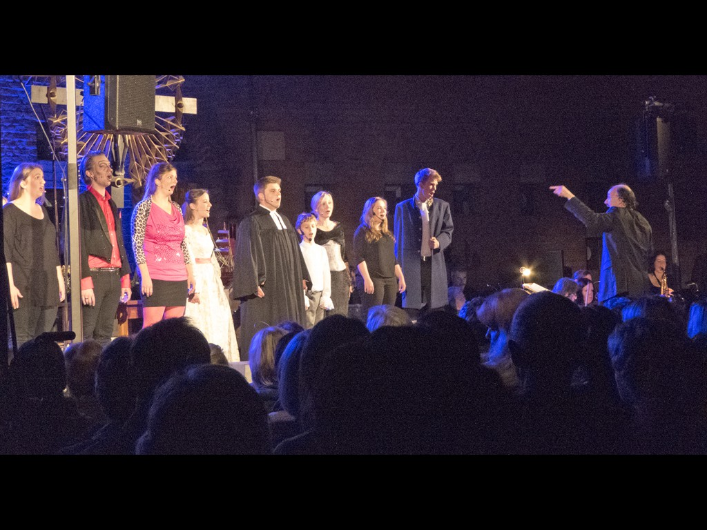 Amazing Grace Sänger rechts: Leiter Torsten Seidemann