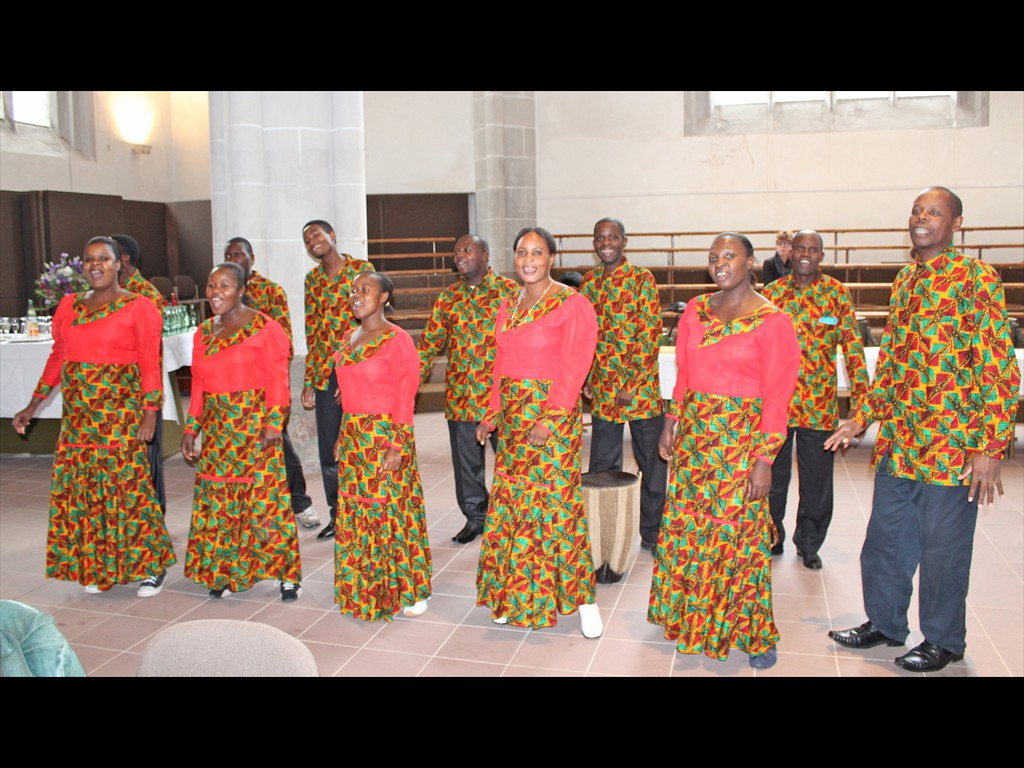 Festgottesdienst Höxter Tansania-Chor