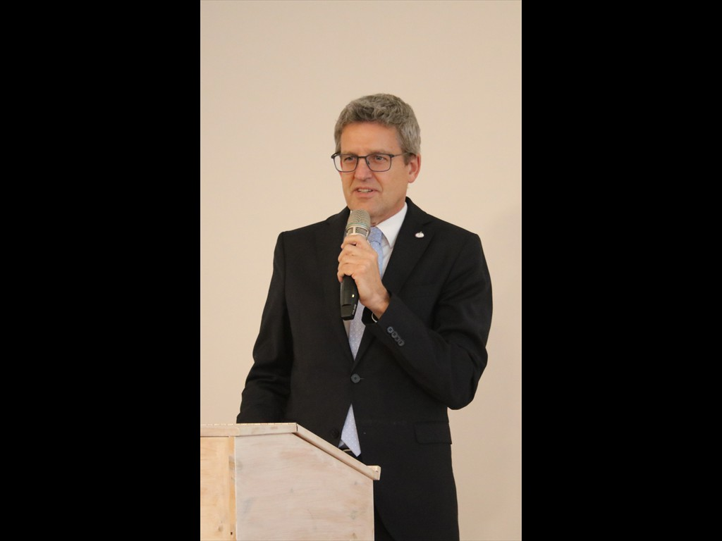 Superintendent Volker Neuhoff, Vorsitzender Ev. Kirchenkreisverband