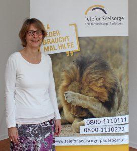 Möchte die Online-Beratung ausbauen: Pfarrerin Dorothea Wahl-Beer, stellvertretende Leiterin der Telefonseelsorge Paderborn. Foto: EKP/Oliver Claes