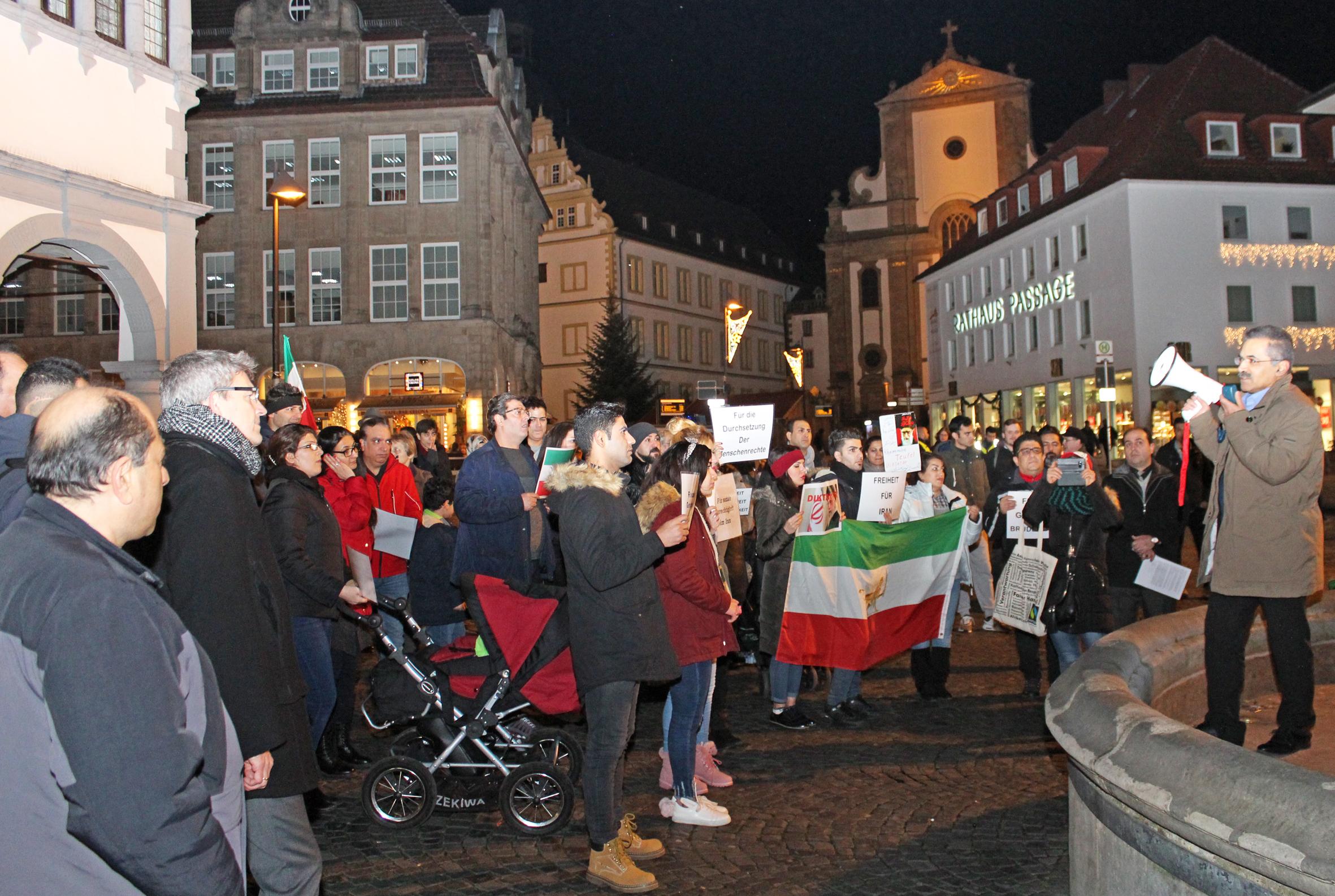 Demonstration Paderborn